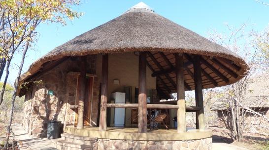 vista exterior de alojamiento en Mopani camp, Kruger NP